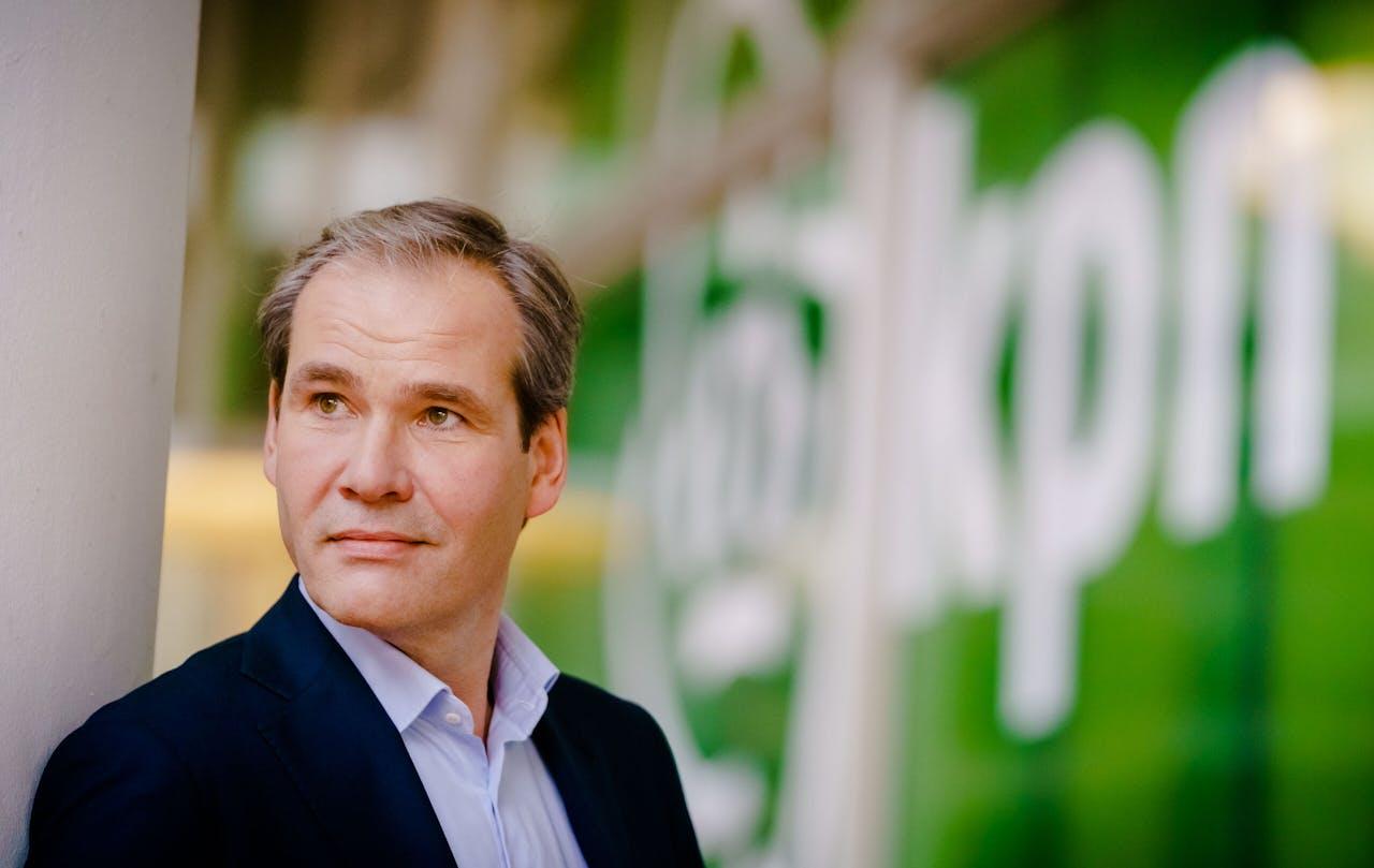 Joost Farwerck, de nieuwe CEO van KPN