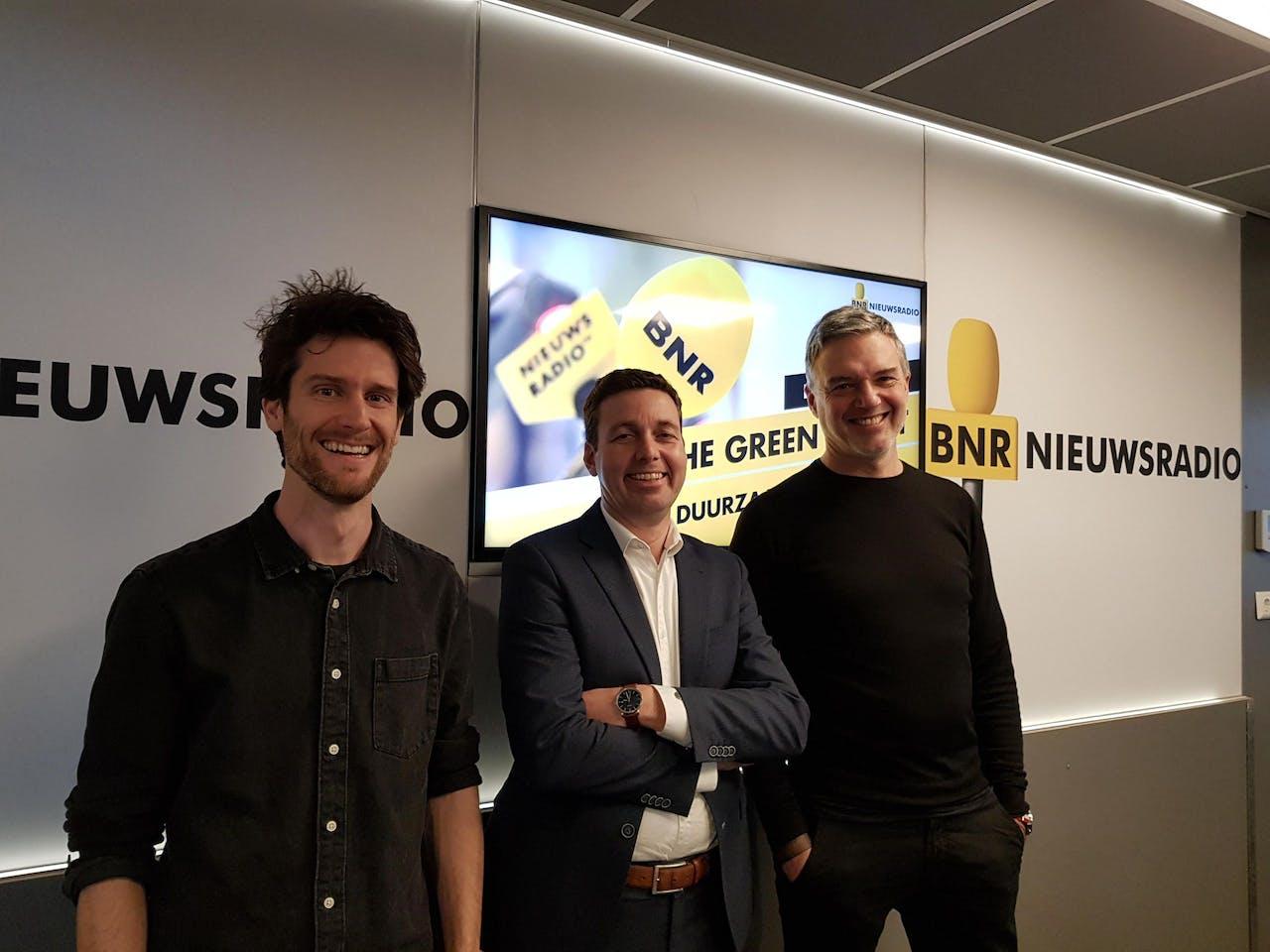 V.l.n.r.: Joep Paulissen, Erwin ten Brincke en Paul Laseur.