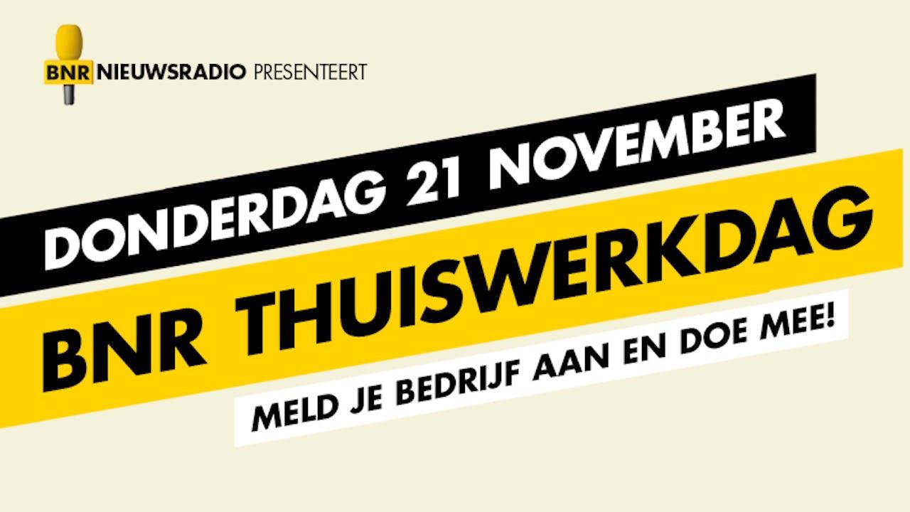 BNR organiseert 21 november de Thuiswerkdag