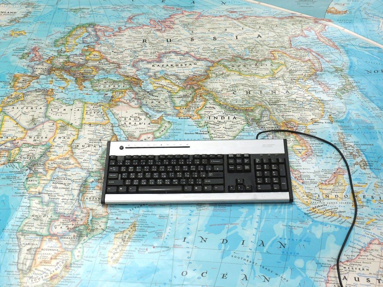 Een computerkeyboard