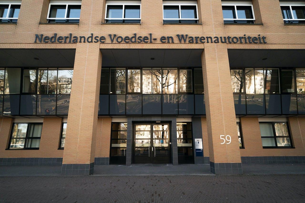 UTRECHT - Een exterieur van het hoofdkantoor van toezichthouder Nederlandse Voedsel- en Warenautoriteit (NVWA) aan de Catharijnesingel. ANP / HOLLANDSE HOOGTE / ALEXANDER SCHIPPERS