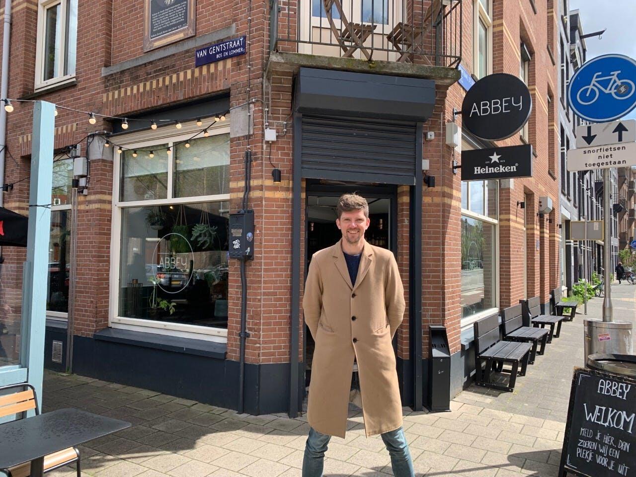 Roy Pannekeet van bar-restaurant Abbey