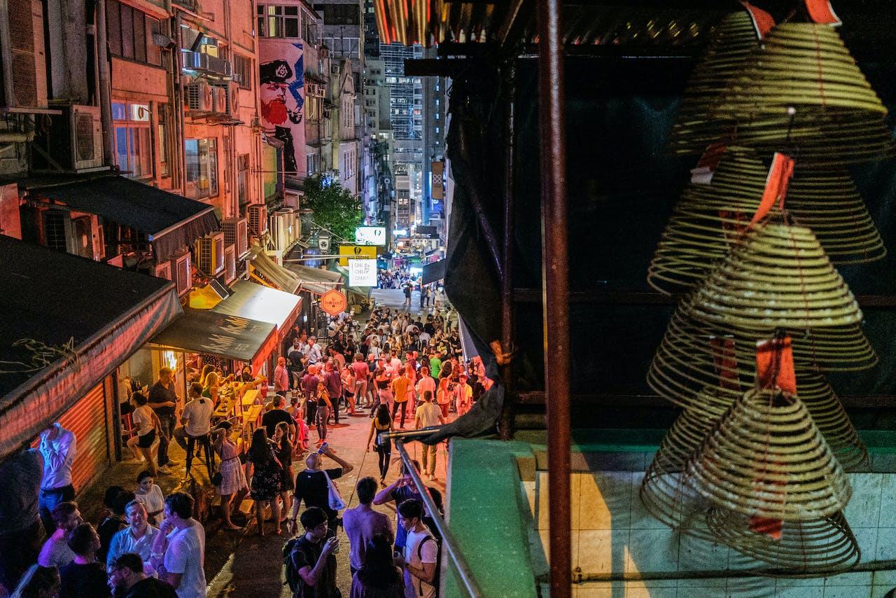 Het bruisende hart van Hong Kong