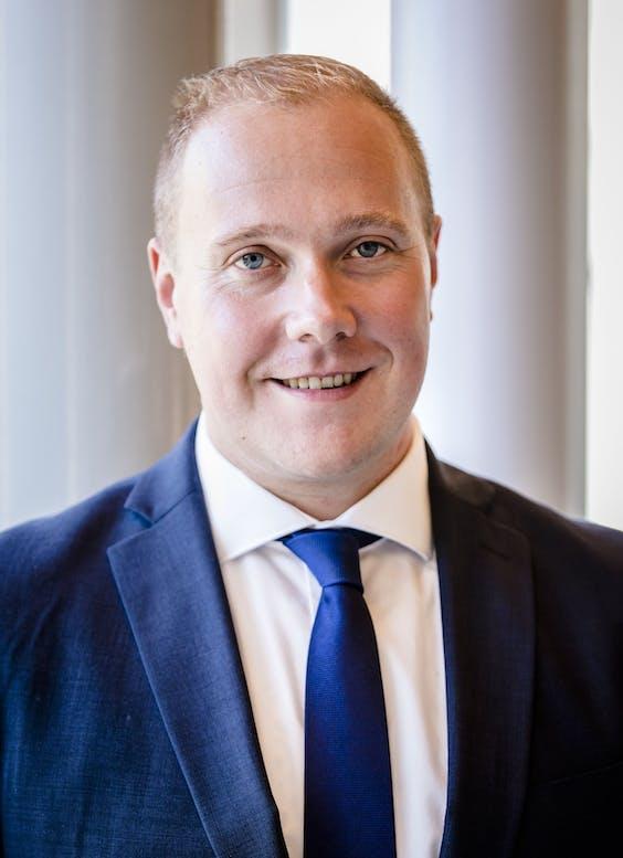 Thierry Aartsen, nr elf op de kandidatenlijst voor de VVD.