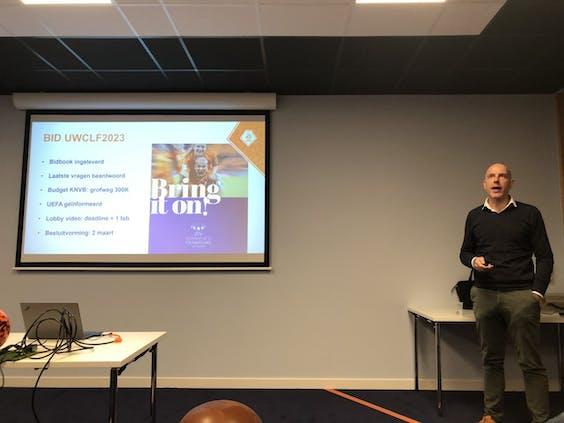 EK-toernooidirecteur Gijs de Jong