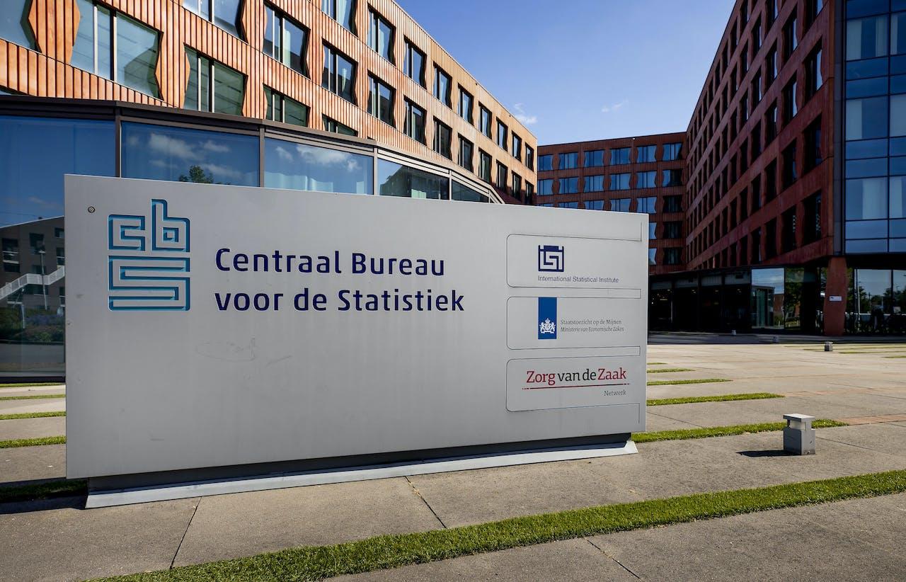 Exterieur van het Centraal Bureau voor de Statistiek (CBS)