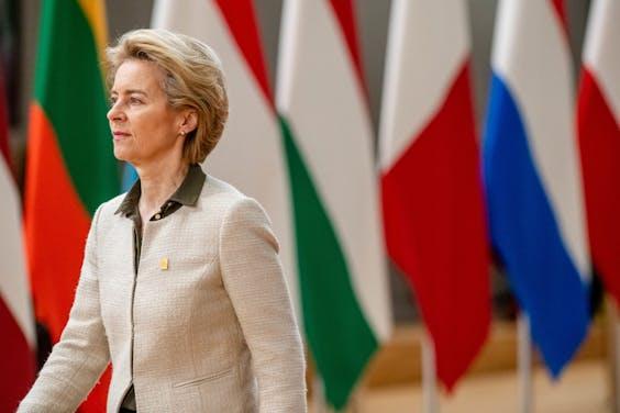 President van de Europese Commissie Ursula von der Leyen