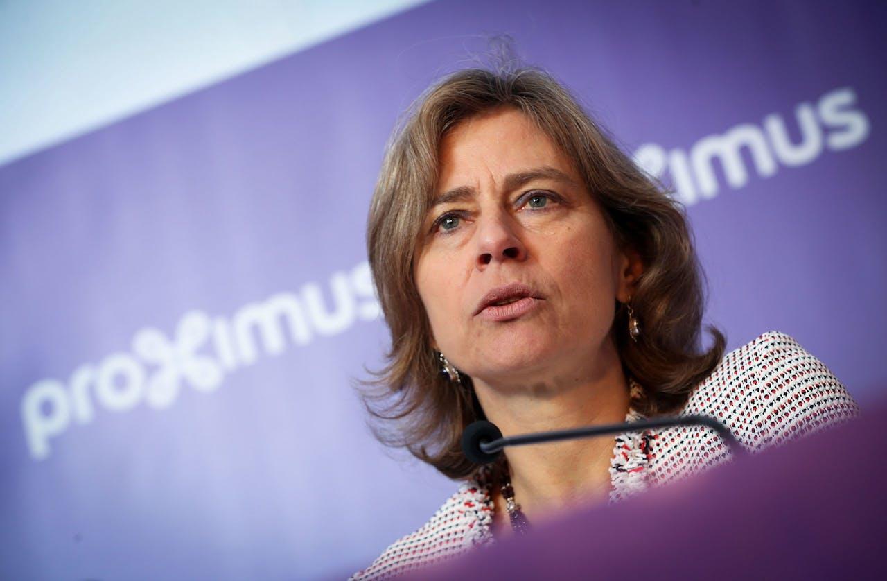 Proximus CEO Dominique Leroy