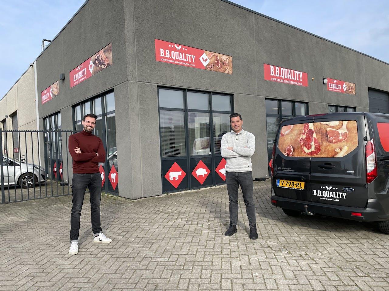 Daniël Verhagen (links) van Happy Horizon en Claus van Vught van B.B.Quality