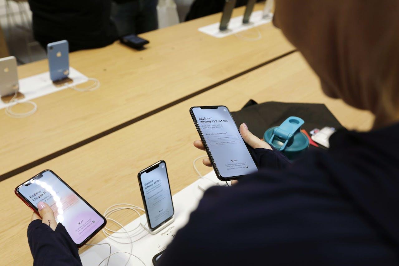 De markt voor refurbished mobieltjes blijft nog wel even bestaan