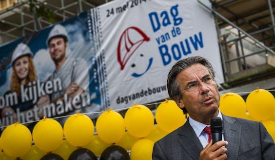 Maxime Verhagen, voorzitter Bouwend Nederland.