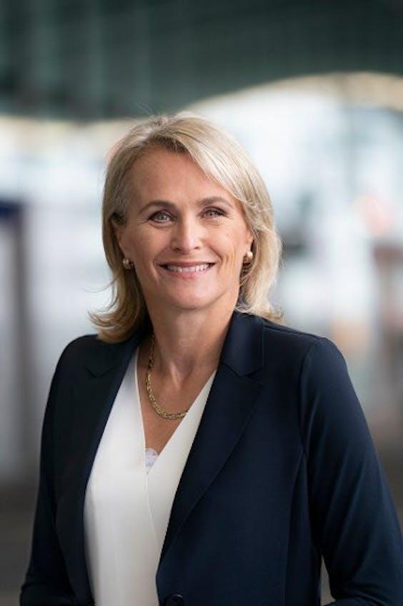 Marjan Rintel, president-directeur van de NS