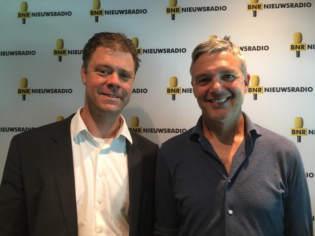 Han Slootweg en presentator Paul Laseur.