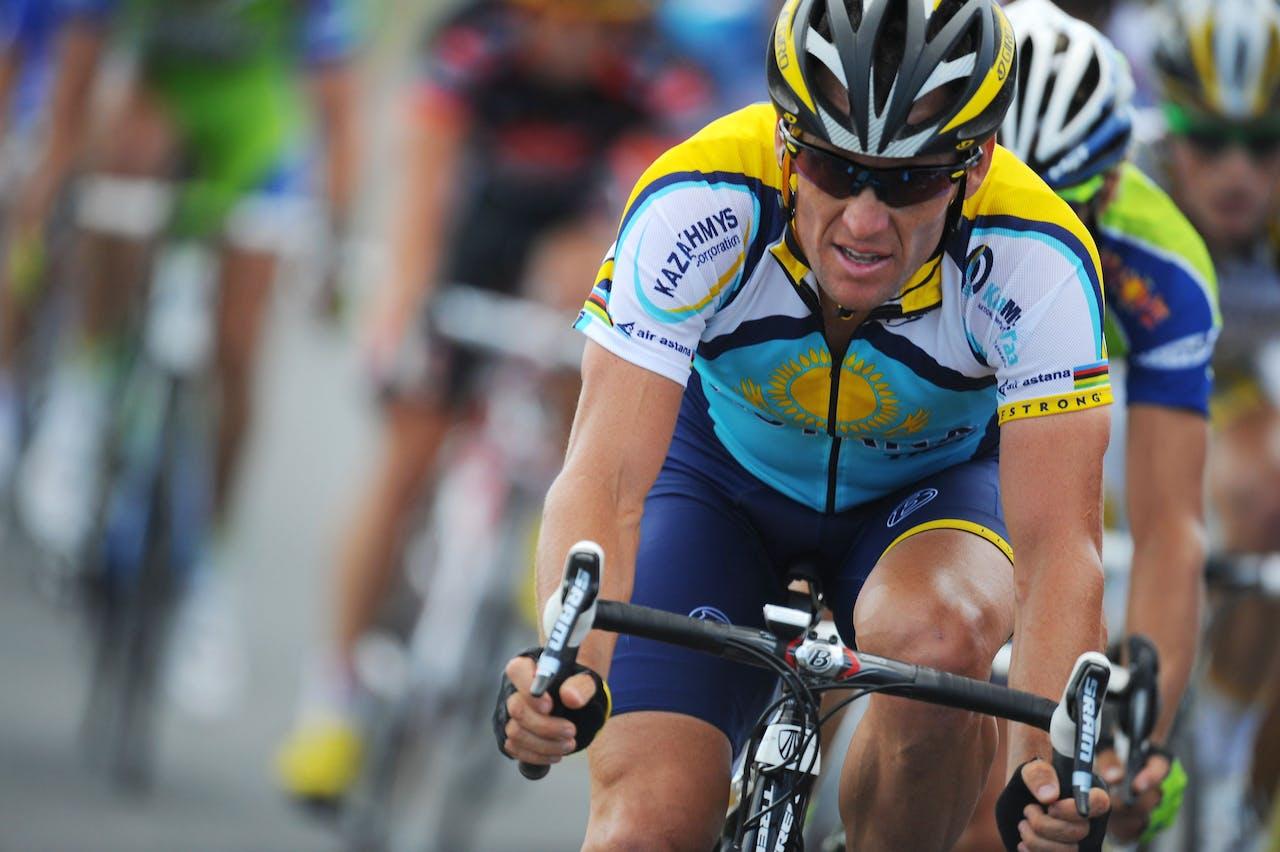 Lance Armstrong bekende in 2013 dat hij doping heeft gebruikt. Foto Patrick Hertzog