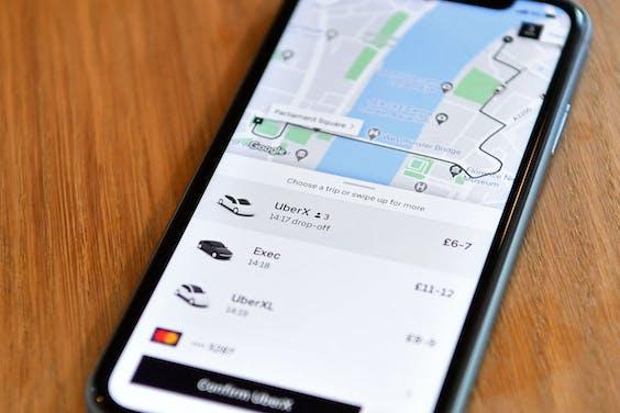 Uber in Londen