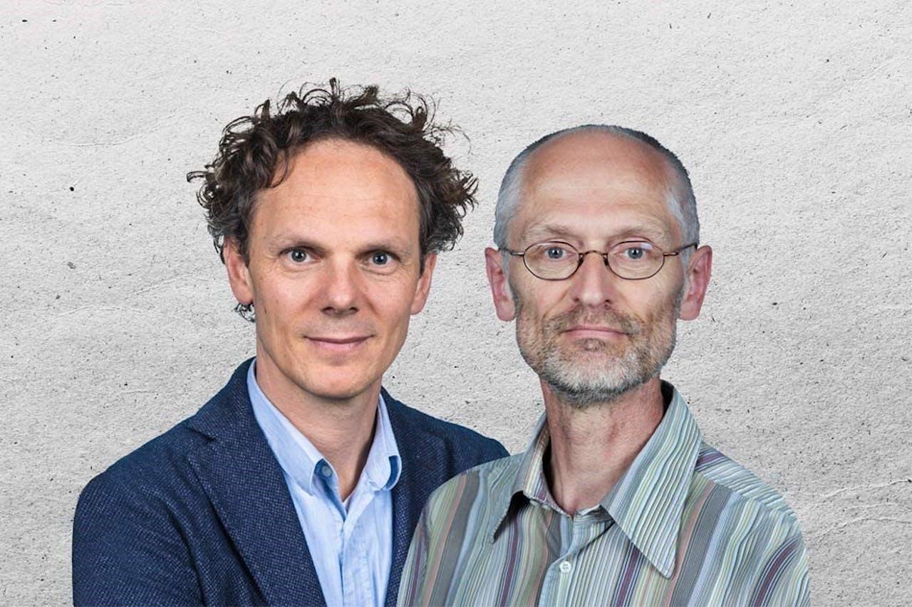 BNR Herbert Blankesteijn en Ben van der Burg met De Technoloog