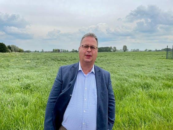 Burgemeester Han Weber van de gemeente Zuidplas