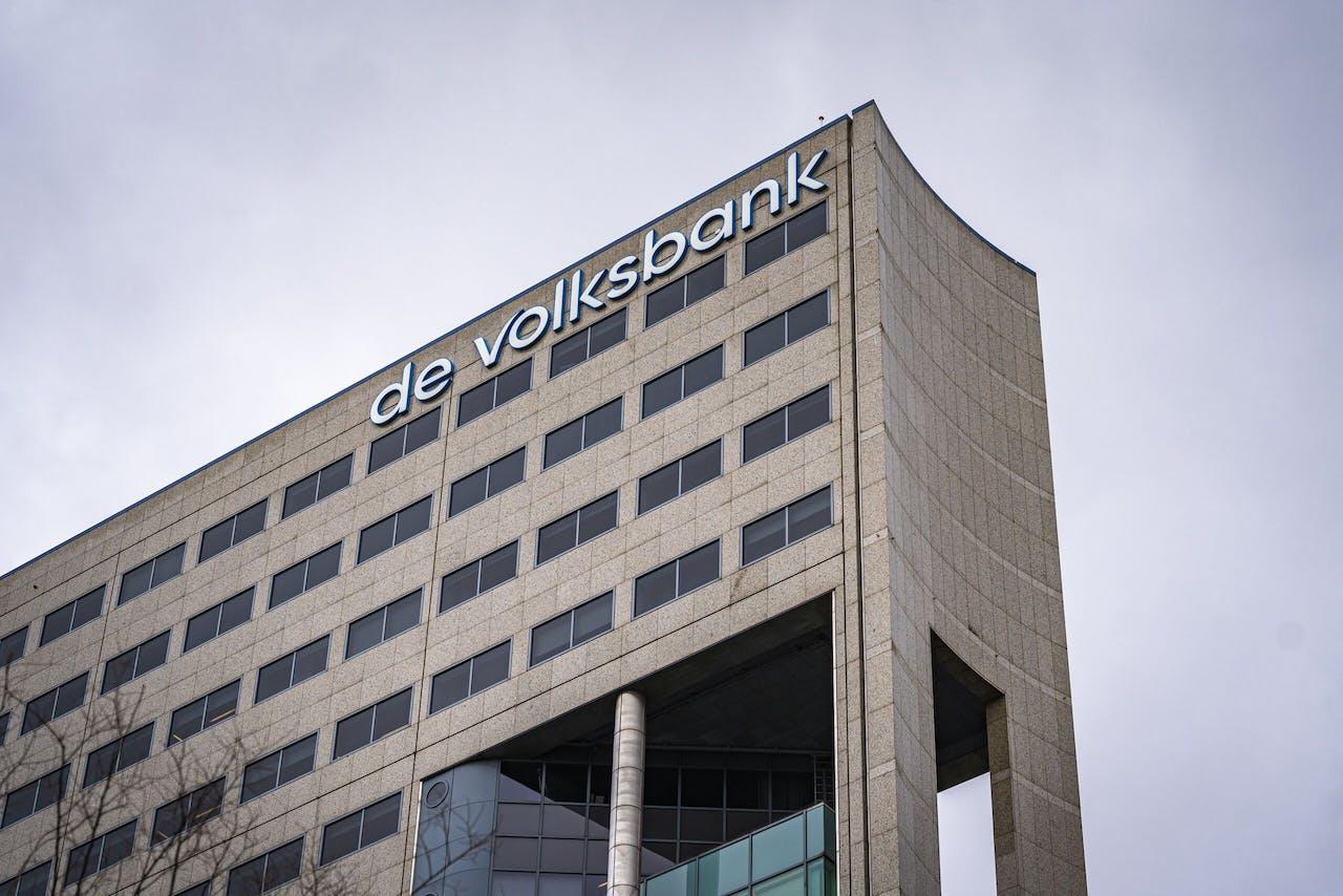Het hoofdkantoor van De Volksbank in Utrecht.