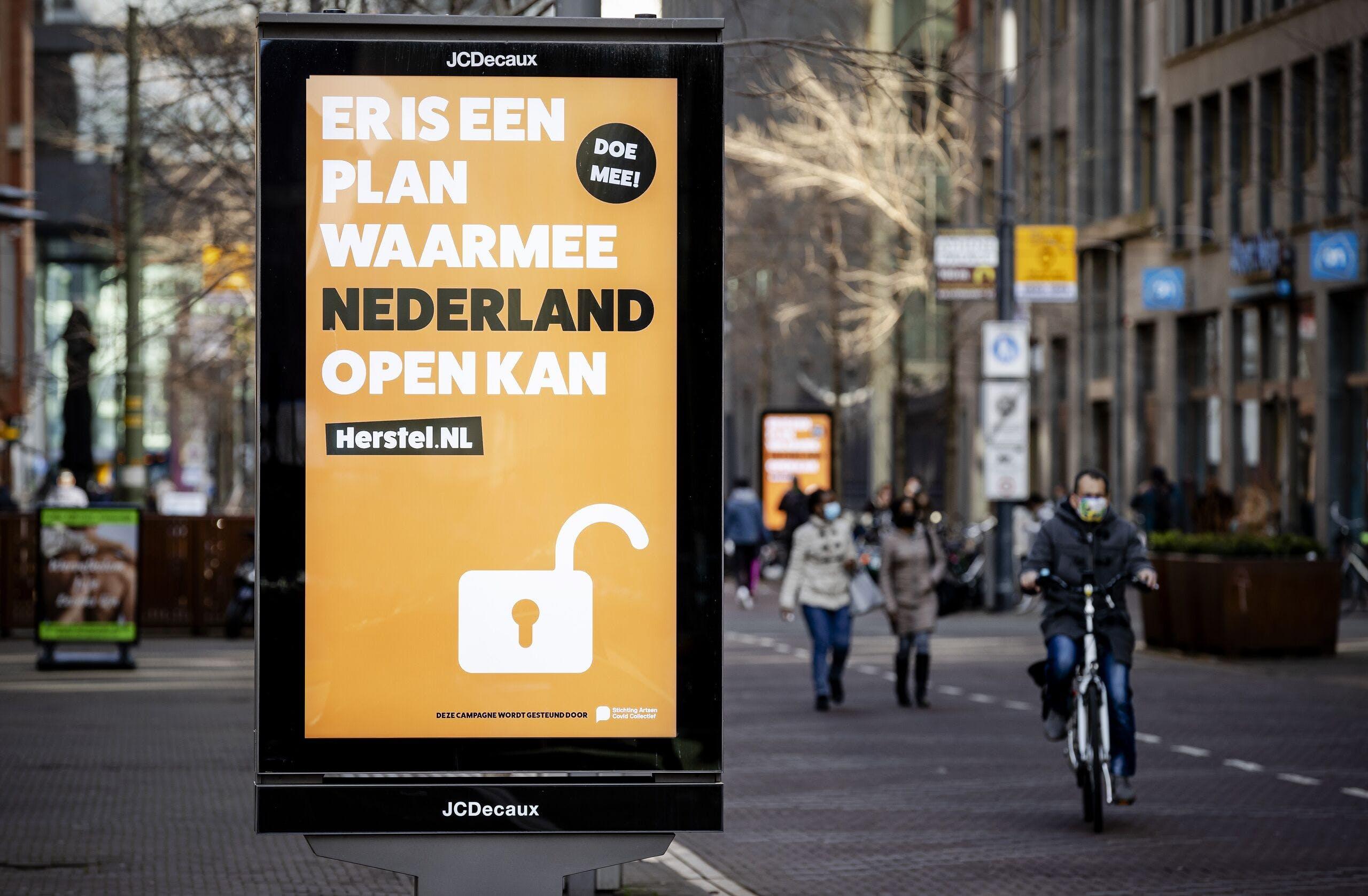Erik-Jan Vlieger (Herstel-NL): 'Wél politieke druk' - BNR Nieuws