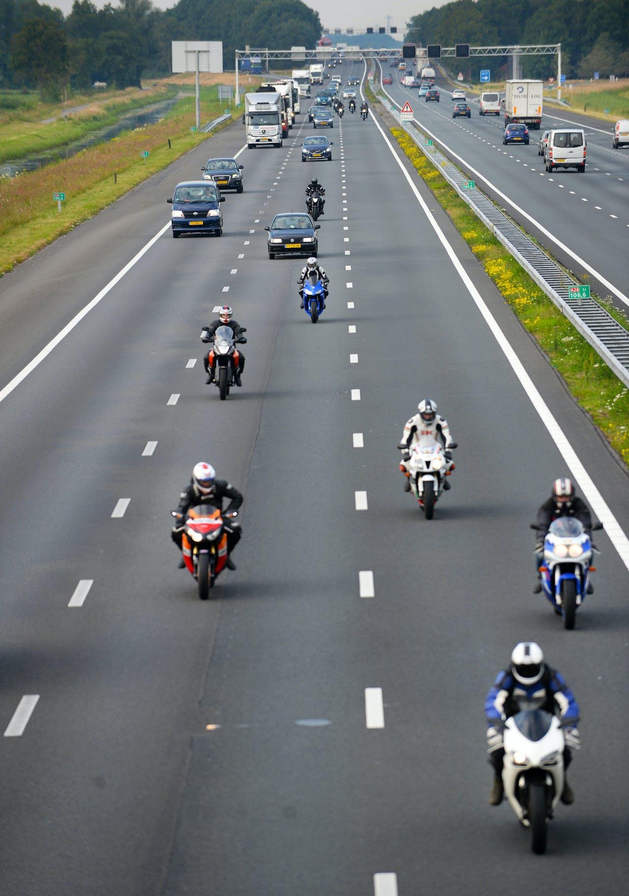 Motorrijdes op de snelweg