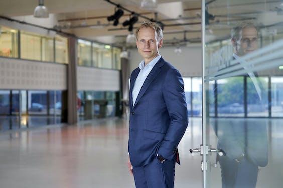 Portret van Mark Heine, CEO van Fugro