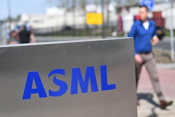 ASML-fabriek in Veldhoven