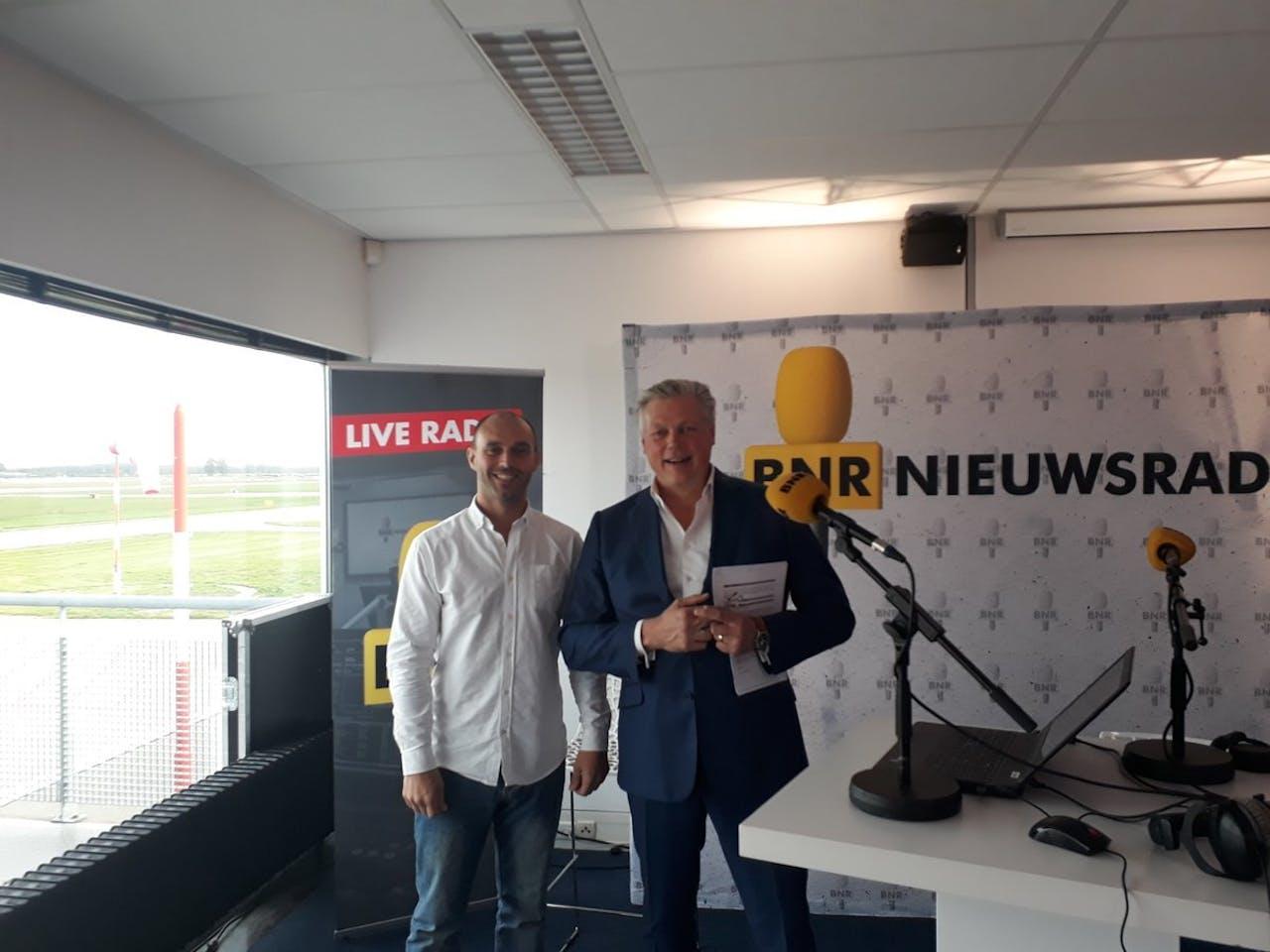 Roelof Hemmen & Thijs Emondts, General Manager van Uber in de Benelux