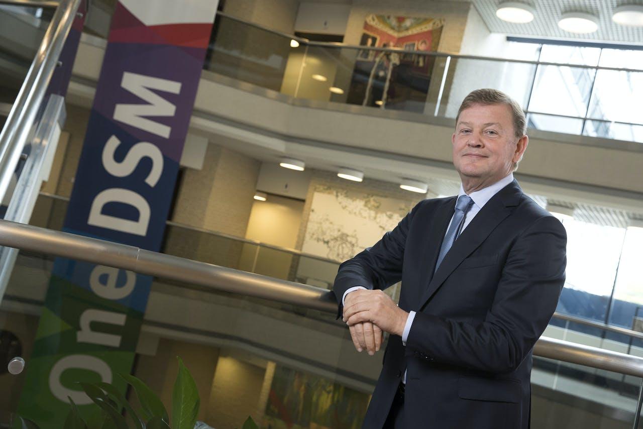 CEO Feike Sijbesma van chemieconcern DSM. ANP MARCEL VAN HOORN