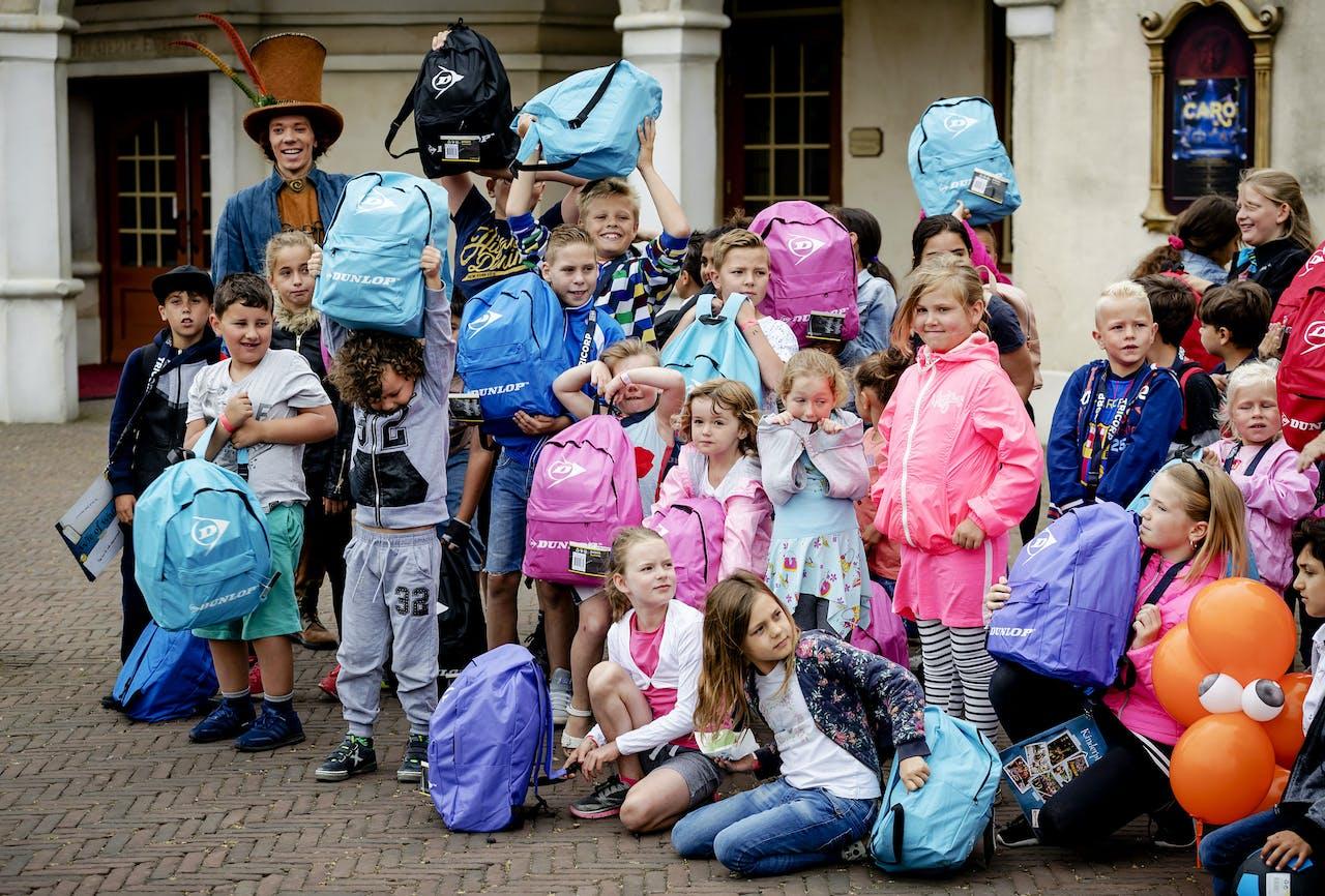 Kinderen in armoede in de Efteling