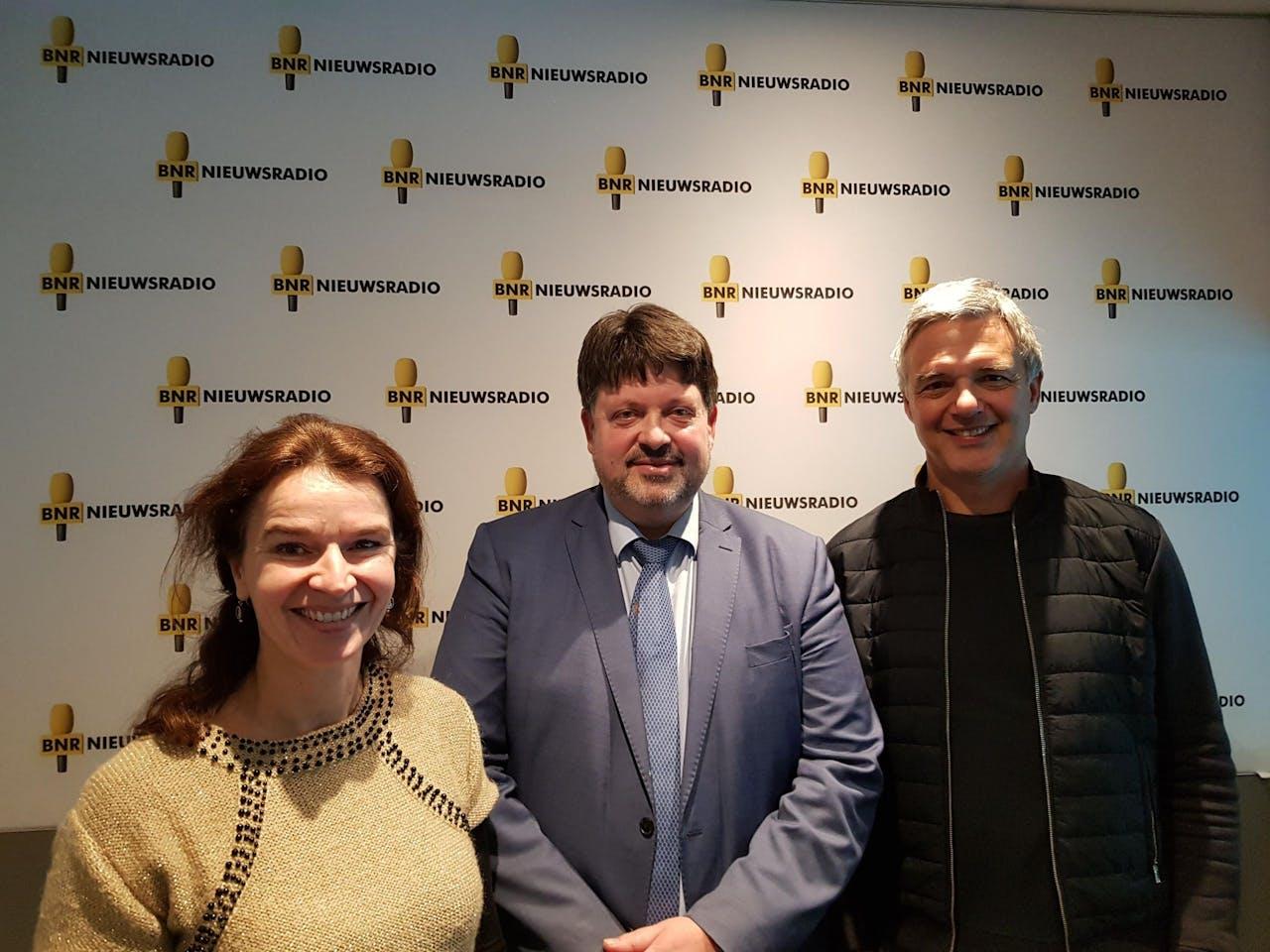 V.l.n.r.: Sylvia Pijnenborg, Han Dieperink en Paul Laseur.