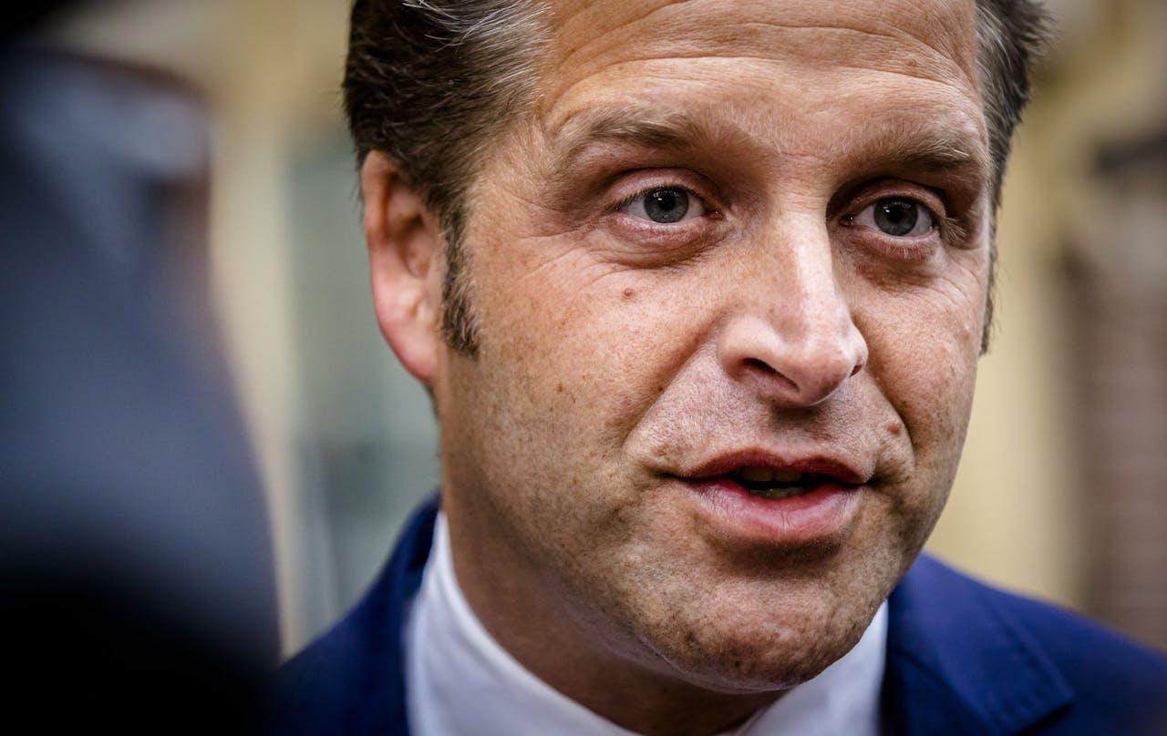 Viceminister Hugo de Jonge