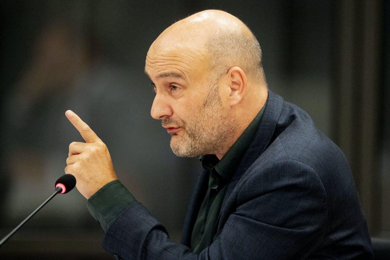 Jasper Van Dijk SP in de Tweede Kamer