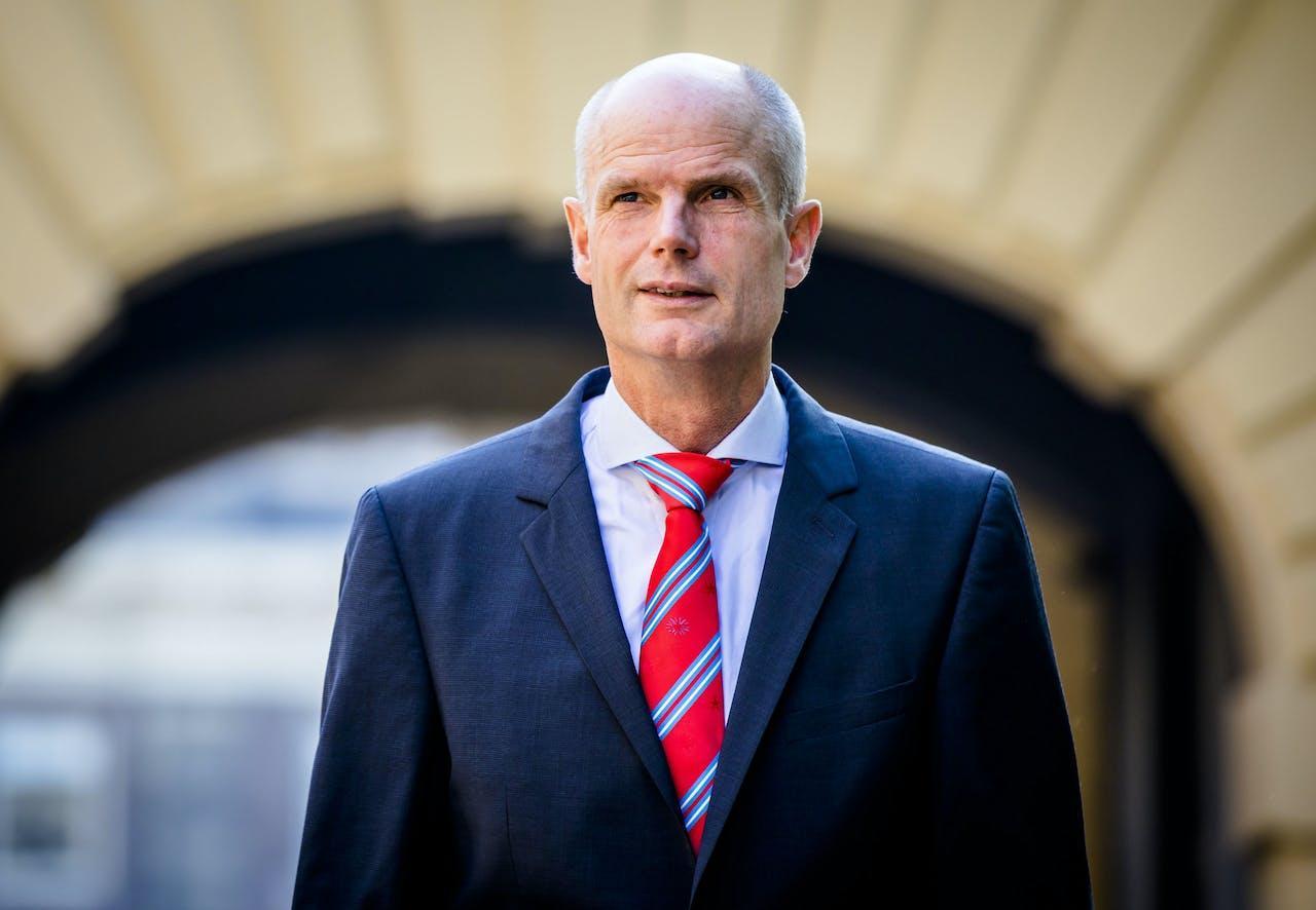 Minister Stef Blok van Buitenlandse Zaken (VVD) T