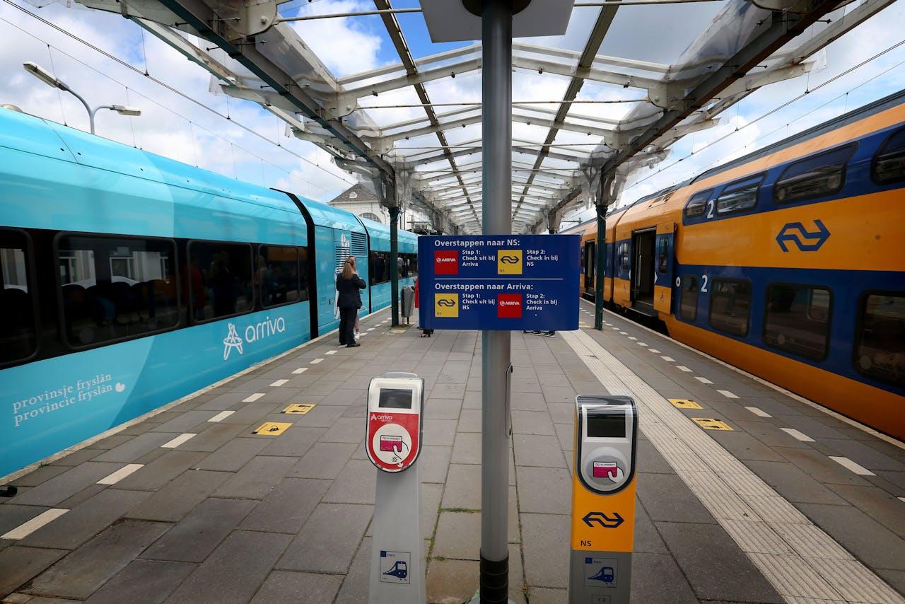 Station Leeuwarden in coronatijd