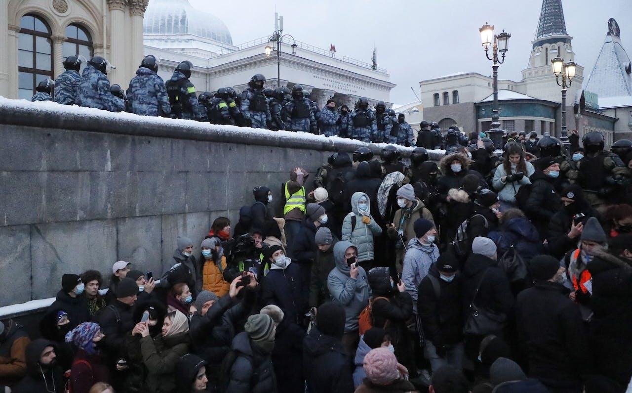 Demonstraties in Moskou
