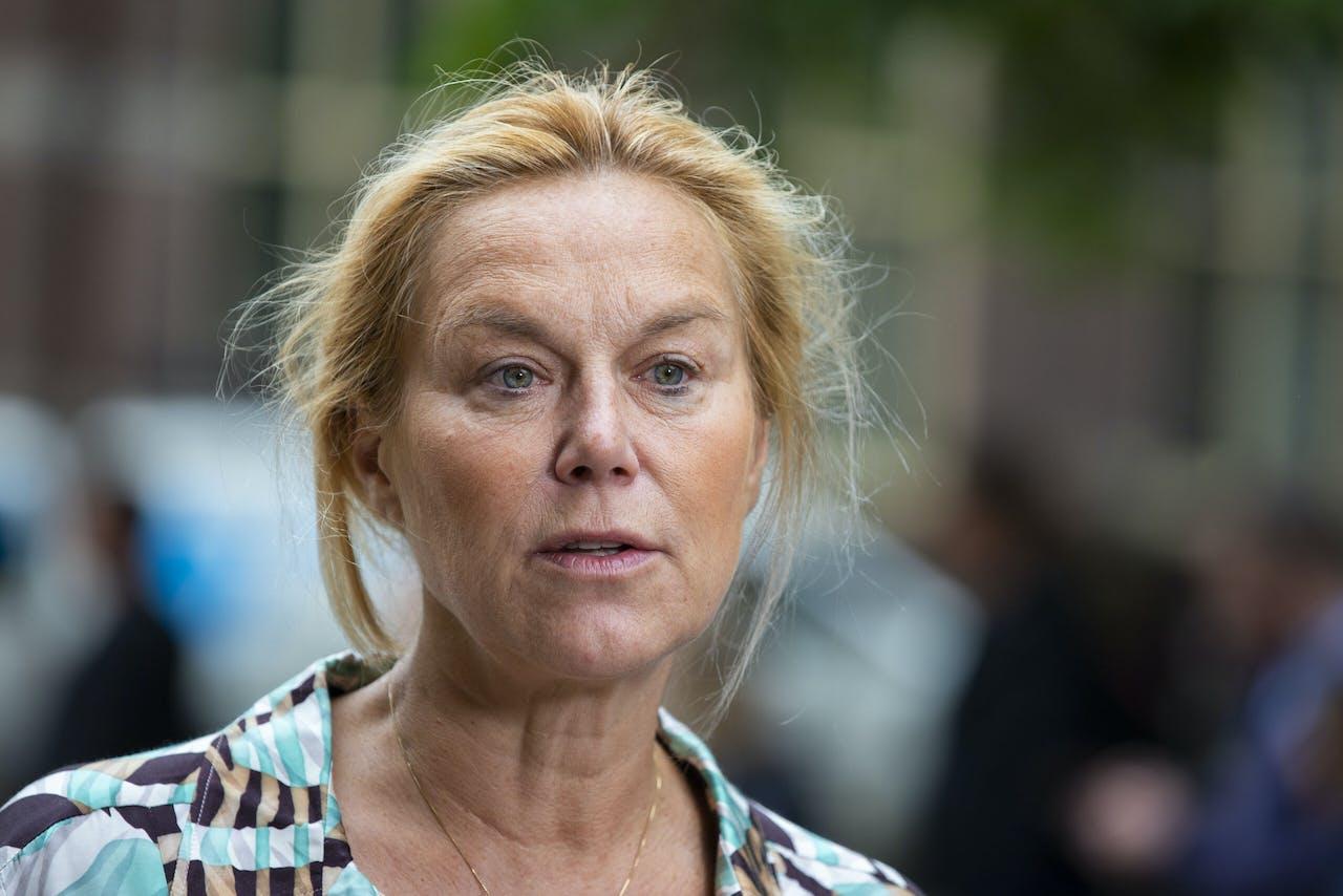 Demissionair Minister Sigrid Kaag (D66).