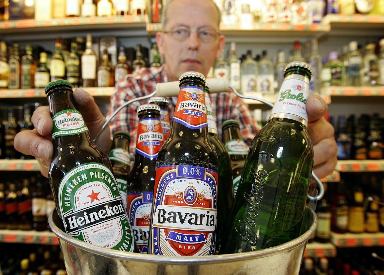 Heineken, Grolsch en Bavaria
