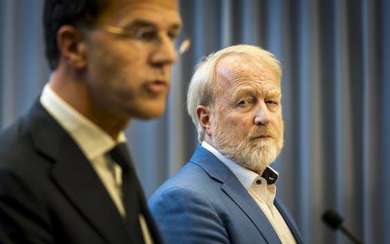 Premier Mark Rutte en Jaap van Dissel (RIVM) geven dinsdagavond om 19:00 uur een persconferentie