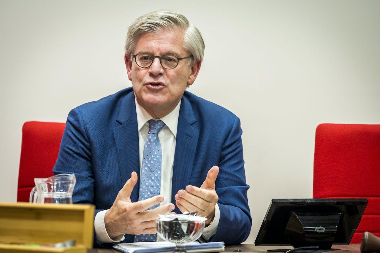 Burgemeester Charlie Aptroot van Zoetermeer