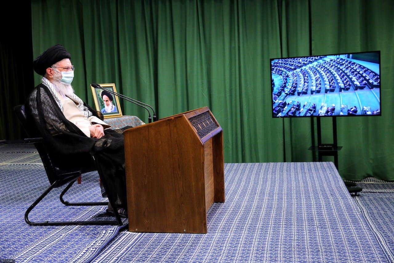 Iraanse leider Ayatollah Ali Khamenei
