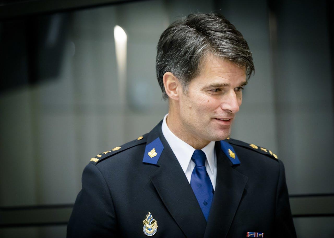 Erik Akerboom, korpschef van de Nationale Politie