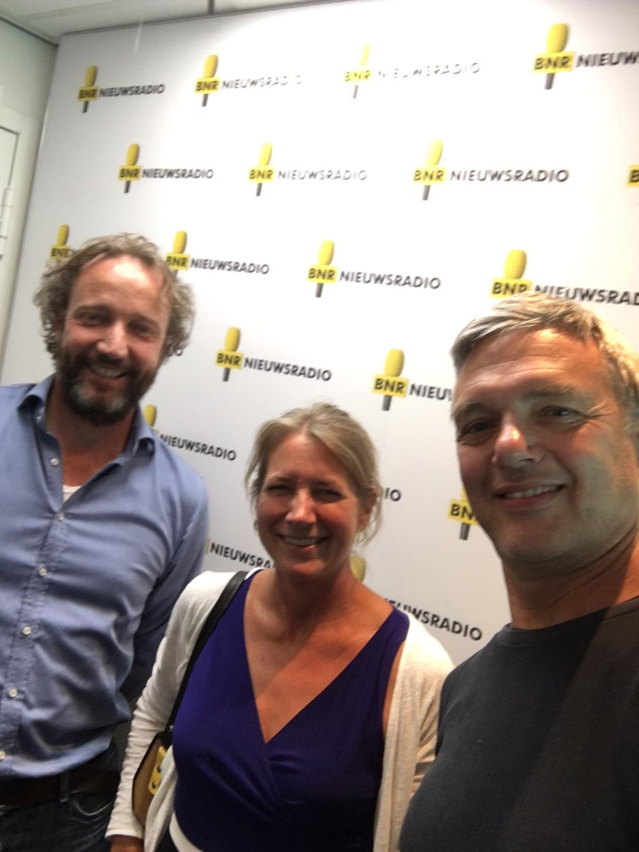 V.l.n.r.: Erik Schotte, Maartje Luisman en Paul Laseur.