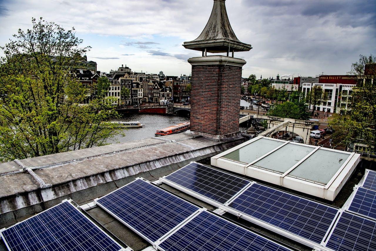 Museum de Hermitage in Amsterdam is voorzien van 316 zonnepanelen