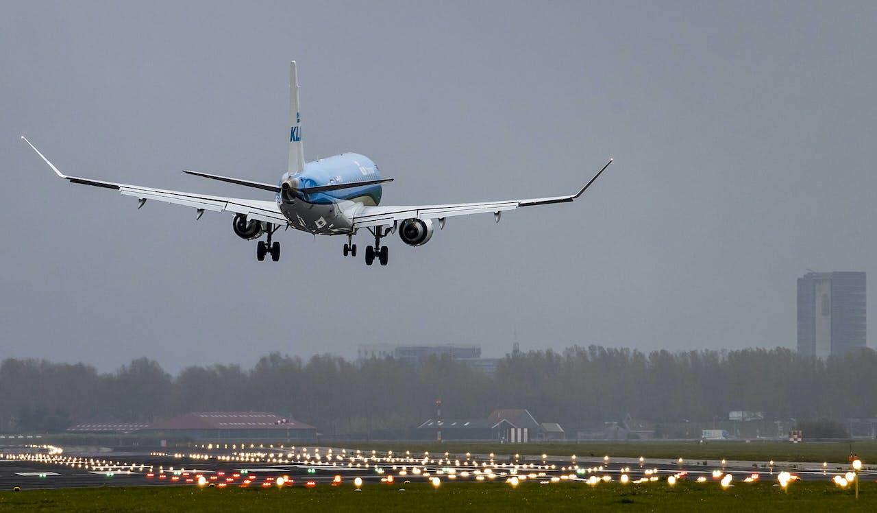 Een toestel van KLM