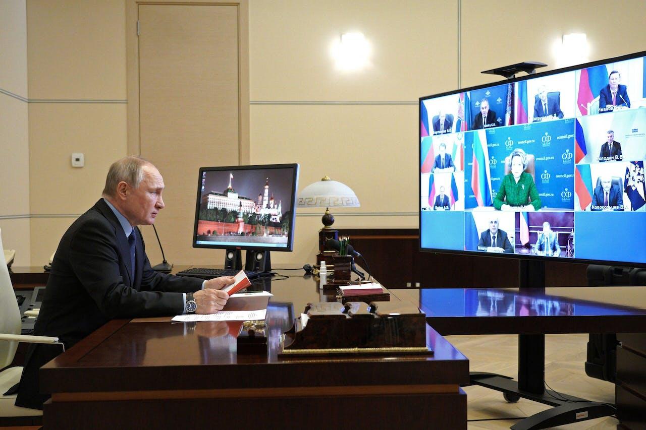 Vladimir Poetin .