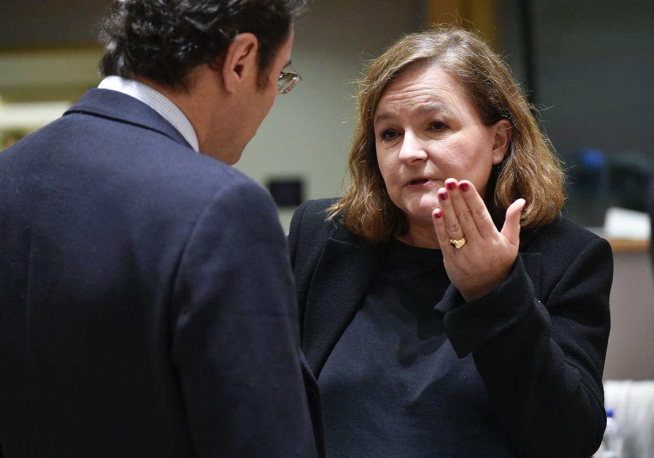 De Franse minister van Buitenlandse Zaken Nathalie Loiseau