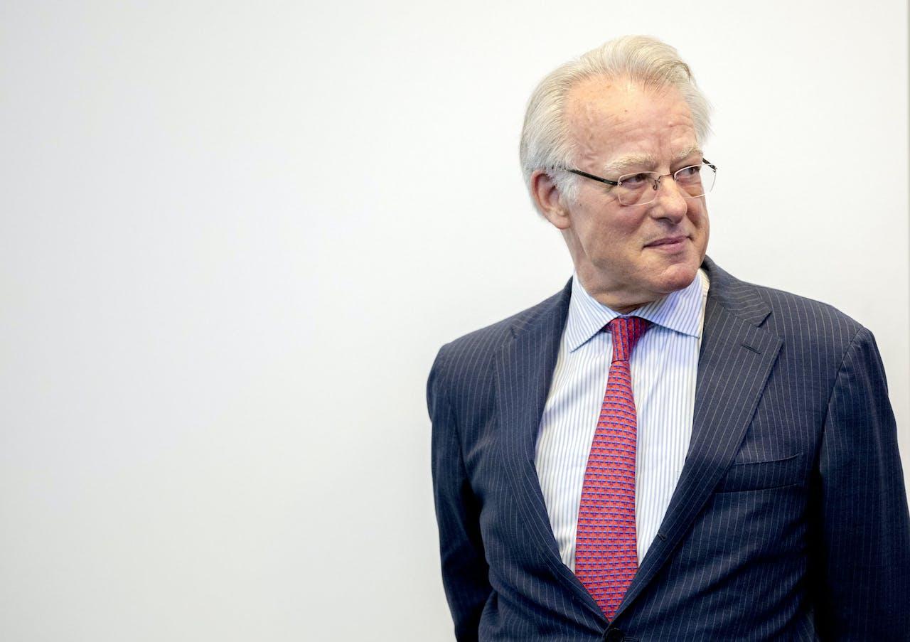 Commissaris van de Koning Jozias van Aartsen.