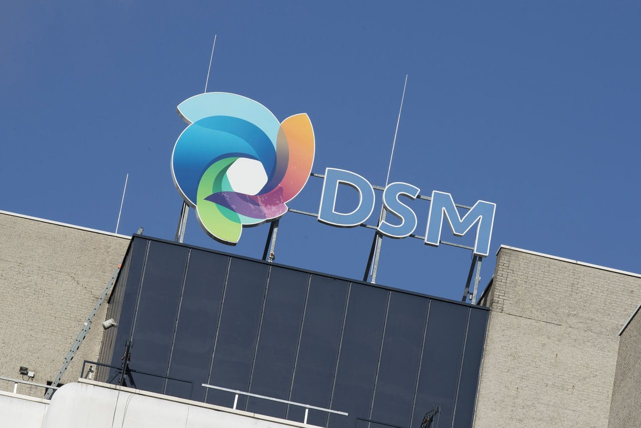 Logo van chemieconcern DSM