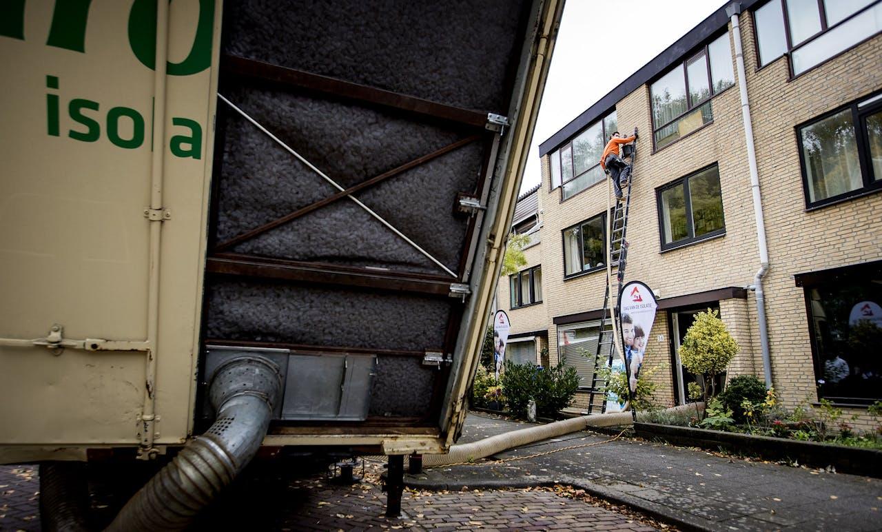 Het isoleren van een woning in Rijswijk
