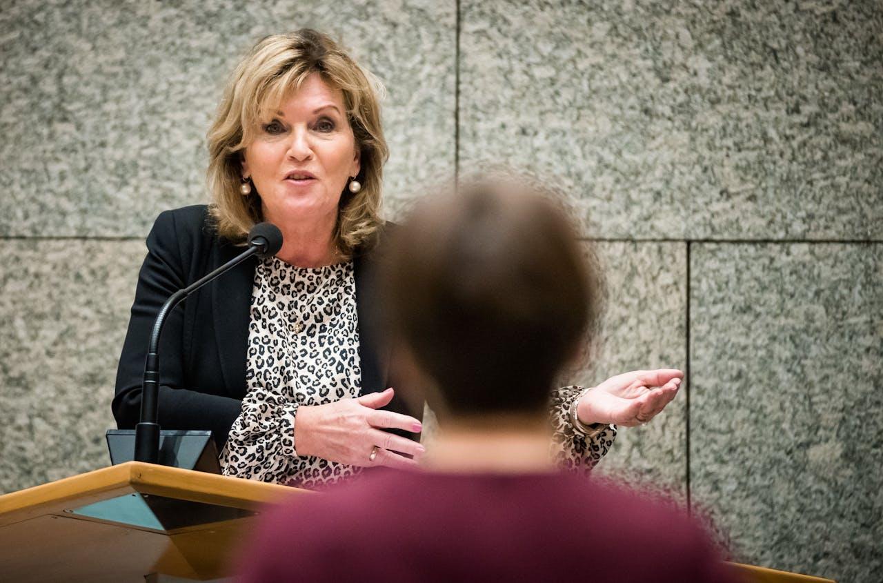 Pia Dijkstra in de Tweede Kamer